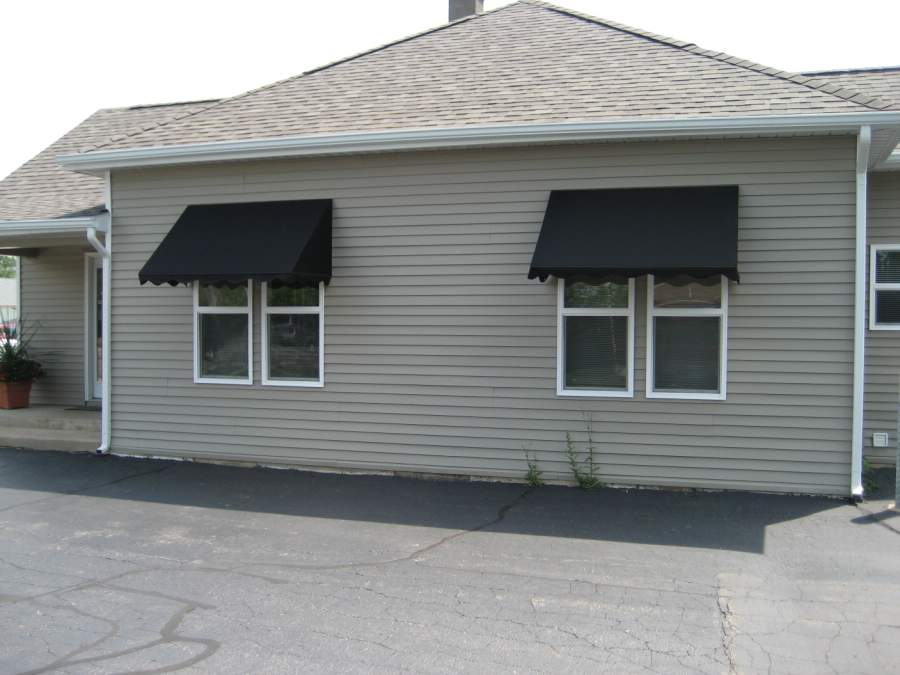 stationary window and door awnings sun and shade awnings for