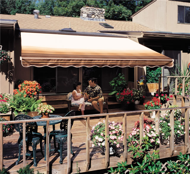 Sun And Shade Awnings For Retractable Awnings