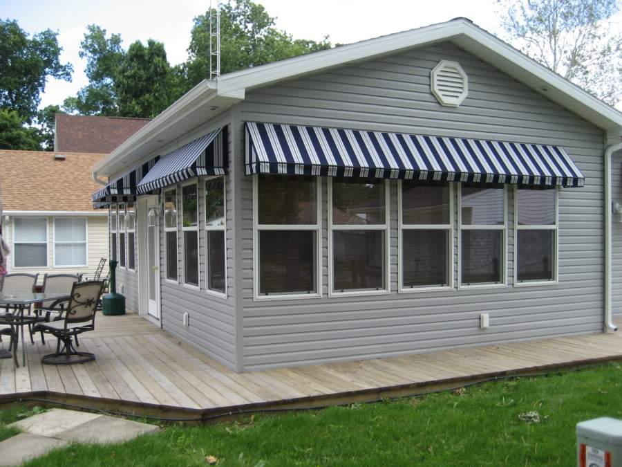 They Feature A Built In Rain Gutter For Added Safety. These Awnings Look  Great And Add Value To Your Home By Improving Appearance, Efficiency And  Safety!